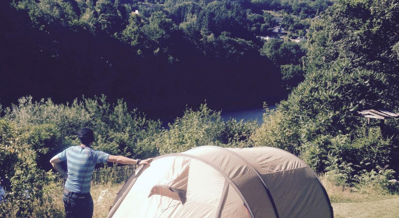 Camping Rursee zelten